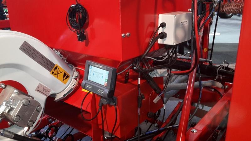 Sämaschine mit G Can Monitor