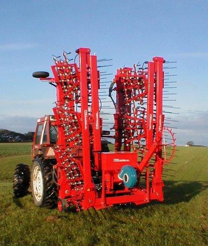 CMN Flex-weeder 12 m mit Sämaschine